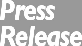 an graphic of the words 'Press Release'