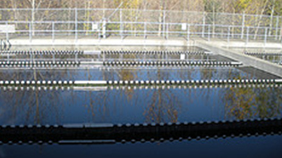an image of a water treatment plant