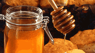 an image of honey