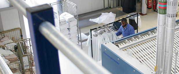 an image of Grosvenor Contracts laundry