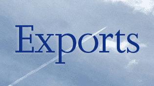 an image of the sky featuring the word: Export