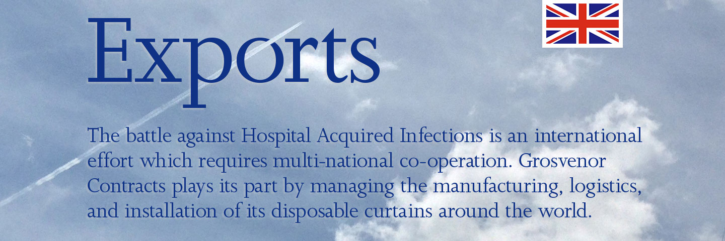 Experts. Whether we're cleaning and disinfecting your blinds and curtains, or managing your healthcare laundry, or supplying disposable cubicle curtains Grosvenor Contracts are experts in Essential Infection Control.