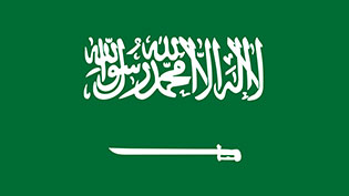an image of the Saudi flag