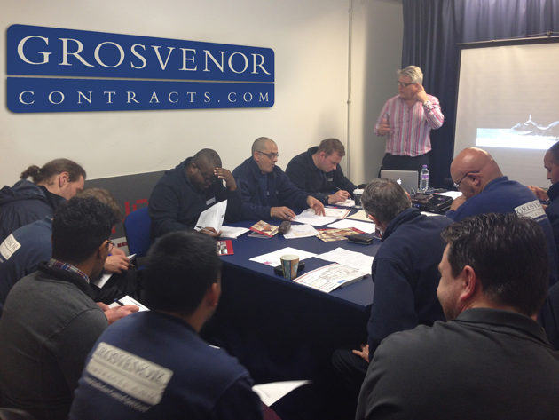 Grosvenor Service Delvery technicians training