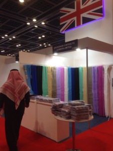 Grosvenor Contracts' stand at Arab Health 2015