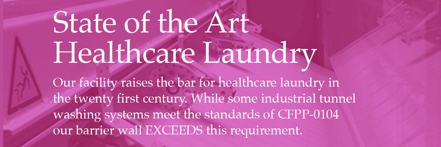6 State of the Art Healthcare Laundry